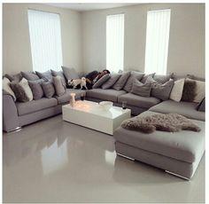 U shape sofa | bocadolobo.com/ #modernsofa #sofaideas Love this sofa!!!
