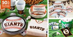 San Francisco Giants Party Supplies - Party City