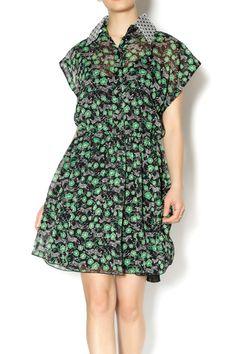 Anna Sui Shirt Dress