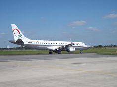 Royal Air Maroc Embraer E190 #RAM