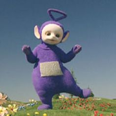 Tinky Winky is the first Teletubby who lives in Teletubbyland with the other Teletubbies. Tinky Winky, (played by Dave Thompson (from 1997 - Mark Heenehan (from 1997 - and Simon Shelton - in the original series and Jeremiah Krage - present) in the new. Plain Wallpaper Iphone, Frozen Wallpaper, Gay Pride Symbols, Filthy Memes, Goof Troop, Pride Colors, Disney Shows, Black Wings, Aesthetic Stickers