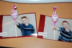 easy, crafty idea to create Valentine cards or birthday invitations.