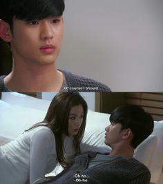 La escapada de Min Joon y Song Yi - My Love From Another Star Episodio 18
