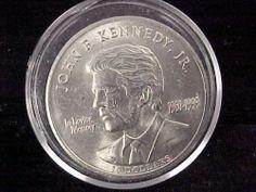 2000 JFK John F Kennedy Jr Republic of Liberia $10 Ten Dollar Coin | eBay