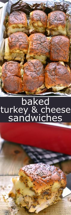 These Baked Turkey &