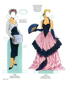 French Fashion Designers 1900-1950
