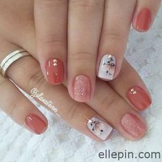 Semi-permanent varnish, false nails, patches: which manicure to choose? - My Nails Spring Nail Art, Nail Designs Spring, Simple Nail Designs, Spring Nails, Summer Nails, Nail Art Designs, Cute Nails, Pretty Nails, My Nails