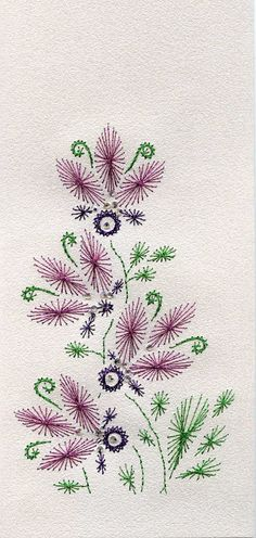 The Latest Trend in Embroidery – Embroidery on Paper - Embroidery Patterns Embroidery Cards, Beaded Embroidery, Embroidery Stitches, Embroidery Patterns, Hand Embroidery, Stitching On Paper, Art Carte, Sewing Cards, String Art Patterns