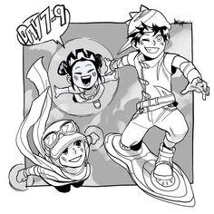 Boboiboy Anime, Attack On Titan Eren, Pokemon Comics, Drawings, Boboiboy Galaxy, Animation, Anime Stories, Cartoon, Cartoon Movies