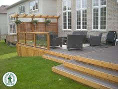 Above Ground Pool Privacy Screen privacy screen with glass railing on deck - google search | yard