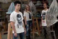 T-Shirt #nuovoevo #stylish #moda #besttshirt #clothes #fashionart #italiantyle #conceptstore #italianfashionbrand #originalimages #special #collaboration #contemporaneyartists #italiafashionart #naturalfabrics #particular #allmadeinitaly