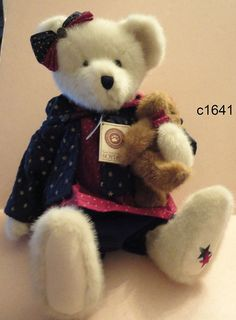 """Boyds Bears Plush Starr B Bearyproud w Sparkle 16"""" Best Dressed New with Tags 