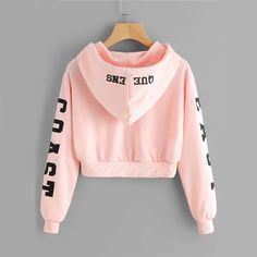 Abigail East Coast Pink Cropped Hoodie Sweater in Baby Pink Cute Casual Back to School Outfit Ideas 2018 for Teen Girls 2018 – East Coast Queens Sweater Hoodie Hoody in Baby Pink – Lindas ideas casuales de regreso a la escuela – www. Teen Fashion Outfits, Mode Outfits, Girl Fashion, Girl Outfits, Fashion Clothes, Style Fashion, Unique Fashion, Fashion Styles, Womens Fashion