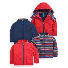 4-in-1 Waterproof Polarfleece Jacket   JoJo Maman Bebe