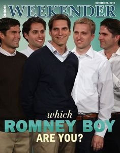 Which Romney Boy Are You? | The Onion - America's Finest News Source