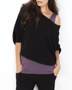 Off The Shoulder Lounge Top - IntiMint