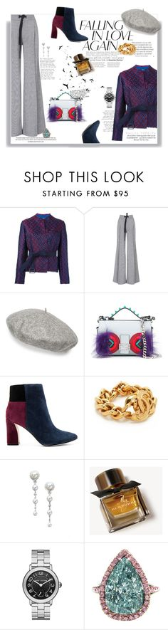 """""""Classy in Fall"""" by railda-pereira ❤ liked on Polyvore featuring Golden Goose, Roland Mouret, Gucci, Fendi, BCBGMAXAZRIA, Mikimoto, Burberry and J. Birnbach"""