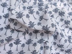 Fabric Godmother - Palm Printed Crepe - White, £15.00 (http://www.fabricgodmother.co.uk/palm-printed-crepe-white/)