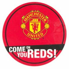 Manchester United F.C. Window Sticker RD by Manchester United F.C.. $8.60. Official Licesned Product. Window Sticker. Manchester United F.C.. Approx 29.5cm Diameter. MANCHESTER UNITED F.C. Window Sticker * Approx 11cm Diameter Official Licensed Product