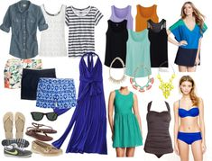 Cardigan Junkie: Reader Request: Packing for a Beach Vacation