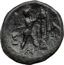 ANTIGONOS II GONATAS 277BC Pan Athena Gallic Victory Macedonia Greek Coin i55671
