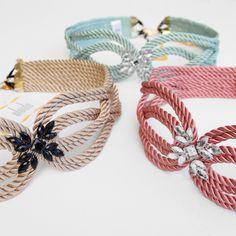 ● Cinturones de cordón de seda | Modelo CHARLOTTE | Diseño de OLVIDO MADRID
