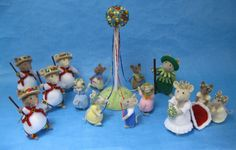 And of cause the most famous knitted mice of Alan Dart