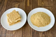 graham crackers whole and graham cracker crumbs