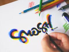 """typeandlettering: """"smash.com logo by Eddie Lobanovskiy """""""
