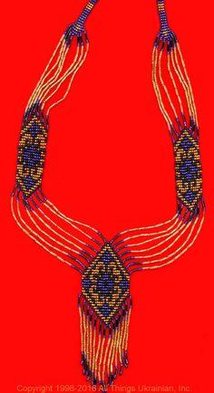 Gherdany Bead Jewelry # GN16174 on AllThingsUkrainian.com