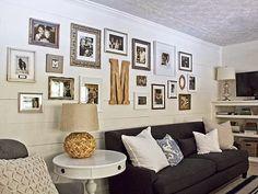 inspiracje w moim mieszkaniu: Galeria fotografii rodzinnej {Photo Gallery family}
