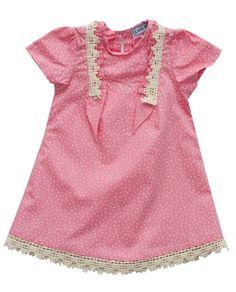 Little Babushka - Pink shirt dress