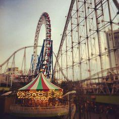 東京ドームシティ ラクーア (LaQua) in 東京, 東京都  Tokyo Dome Theme Park Y3800, individual rides Y400-Y800