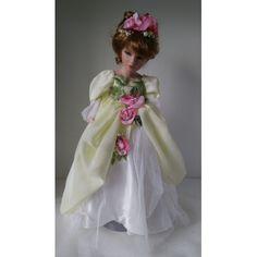 Porcelánová bábika PBMA D 45 Girls Dresses, Flower Girl Dresses, Victorian, Wedding Dresses, Fashion, Dresses Of Girls, Bride Dresses, Moda, Bridal Gowns