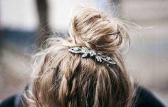 HAIR- Peinados casuales y para boda con broches vintage /Vintage hair pins !