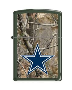 NFL Dallas Cowboys Realtree Zippo Lighter  https://allstarsportsfan.com/product/nfl-dallas-cowboys-realtree-zippo-lighter/  Lifetime Guarantee from Zippo Made in USA Officially licensed by the NFL and Realtree