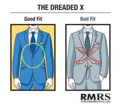 """The fit of your clothing is its most important feature."" #men #business #fashion"