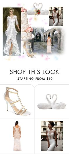 """Best Friends Wedding"" by gigi-sessions ❤ liked on Polyvore featuring Jimmy Choo, Lladró and Parker"