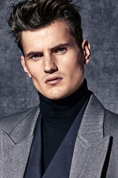 The Financial Times, How To Spend It: John Smedley roll neck