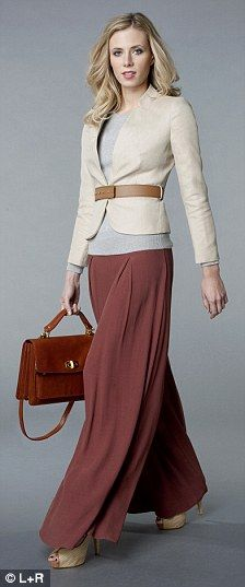 Creative office? No rule against maxi skirts. Get one that has a ...