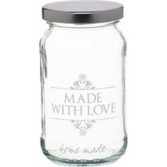 Buy KitchenCraft Home Made 454ml Decorated 'Love' Preserving Jar from our Food Containers range - Tesco.com