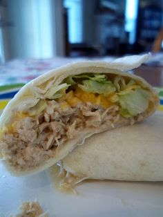 These were super easy and delcious! Sooo juicy! Plenty leftover with just 2 chicken breasts! Homegrown Cozy: Ranch Chicken Tacos in the crockpot