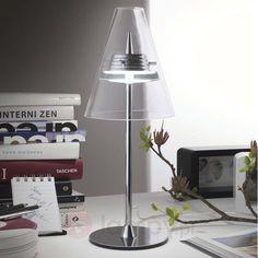 Piękna lampa stołowa LED CAPRINA 6526236