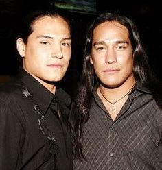 Native American Men (Brothers) - Eddie & Michael Spears
