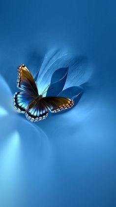 Blue Butterfly Wallpaper, Butterfly Background, Pop Art Wallpaper, Flower Phone Wallpaper, Butterfly Art, Cellphone Wallpaper, Wallpaper Backgrounds, Phone Wallpapers, Beautiful Flowers Wallpapers
