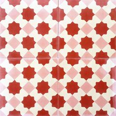 Contemporary / Contemporáneo design, Authentic Encasutic / Hydraulic Andalusian Tiles for both the floor and wall. MOD-133 A.