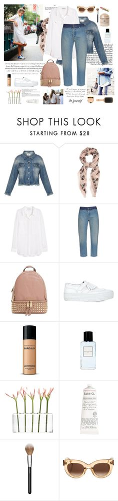 """Beautiful day"" by divadiscodiva ❤ liked on Polyvore featuring mode, Dollhouse, Acne Studios, Alexander McQueen, H&M, MM6 Maison Margiela, MICHAEL Michael Kors, Joshua Sanders, Bare Escentuals et Marc Jacobs"