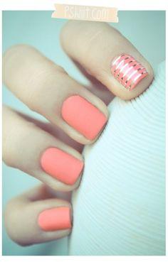 manicure diseños juveniles para uñas cortas - Buscar con Google
