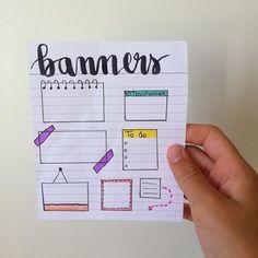 Bullet Journal School, Bullet Journal Tracker, Soft Wallpaper, Galaxy Wallpaper, Banner Doodle, Bujo, Study Planner, School Notebooks, Drawing Studies