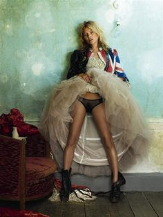 The Best of British :: Kate Moss by Lucinda Chambers